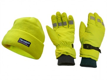 Yellow Range Scan Hi-Visibility Gloves
