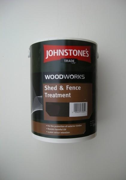 Johnstones Shed Amp Fence Treatment Light Brown 5 0 Litre
