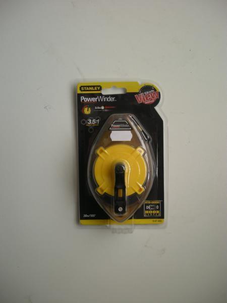 Stanley Tools Power Winder Chalk Line 30m STA047460
