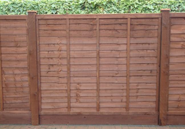 6ft X 5ft Waney Lap Fence Panel