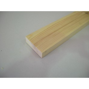 32mm x 70mm (3 x 1½) Planed All Round Softwood (Price Per Mtr.)