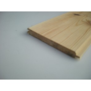12 x 119 Planed Tongue and Groove Redwood (Price Per Mtr.)