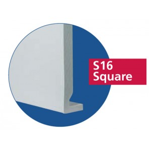 """8"""" (200mm) Square Edged Replacement Fascia"""
