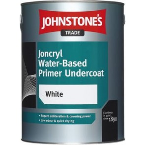5 Litres Johnstones Joncryl Water Based Primer Undercoat