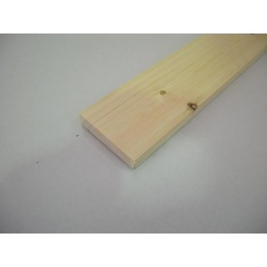 20mm x 95mm (4 x 1) Planed All Round Softwood (Price Per Mtr.)