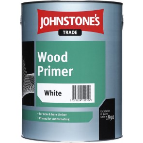 5 Litres White Johnstones Wood Primer