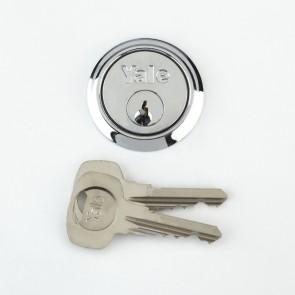 Yale Rim Cylinder Chrome Plated (4 Keys)