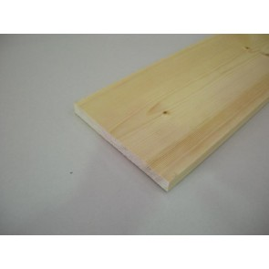 20mm x 195mm (8 x 1) Planed All Round Softwood (Price Per Mtr.)
