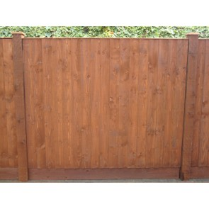 6ft x 5ft Feather Edge Fence Panel