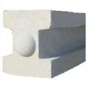 9ft Concrete Slotted Fence Post
