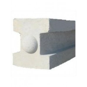 8ft Concrete Slotted Fence Post