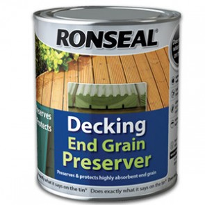 750 ml Green Ronseal Decking End Grain Preserve