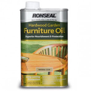 500 ml Natural Clear Ronseal Hardwood Furniture Oil