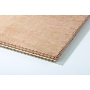 12mm (8'x4') Hardwood Faced Plywood