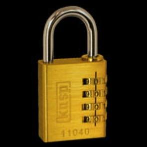 Kasp Padlock (Brass K11040D)