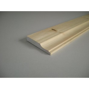 20mm x 169mm Lambs Tongue Skirting (Price Per Mtr.)