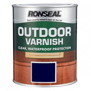 750 ml Gloss Ronseal Outdoor Varnish