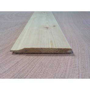 12 x 119 Planed Redwood Shiplap (Price Per Mtr.)