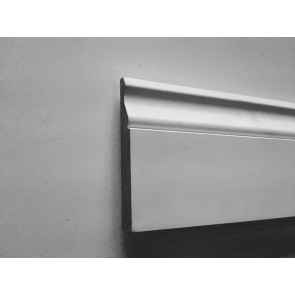 4.4mtr 18mm x 68mm White Primed Ogee MDF Architrave